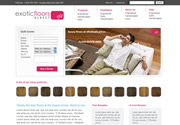 Exotic Floors Direct website Screenshot